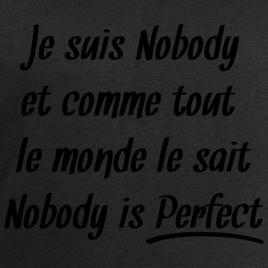 Nobody is perfect Tee shirts - Sweat-shirt Homme Stanley & Stella