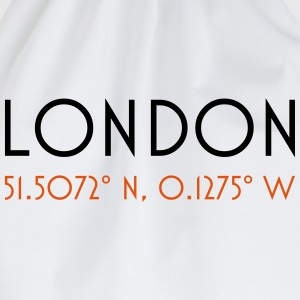 london coordinates T-shirts - Gymtas