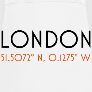London Coordinates minimal - Cooking Apron