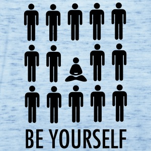 Be Yourself (Meditation) T-shirts - Tanktopp dam från Bella