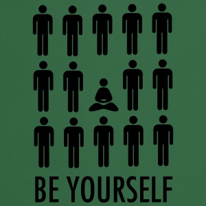 Be Yourself (Meditation) Tee shirts - Tablier de cuisine