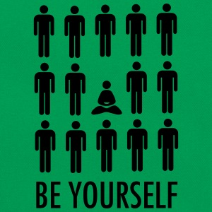 Be Yourself (Meditation) T-Shirts - Retro Bag