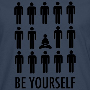 Be Yourself (Meditation) Tee shirts - T-shirt manches longues Premium Homme
