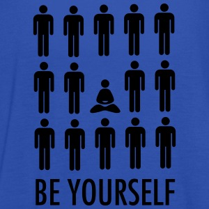 Be Yourself (Meditation) T-Shirts - Women's Tank Top by Bella