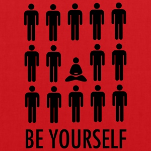 Be Yourself (Meditation) T-Shirts - Tote Bag