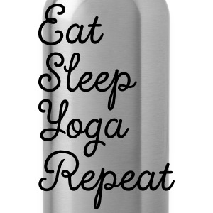 Eat, Sleep, Yoga, Repeat T-Shirts - Water Bottle
