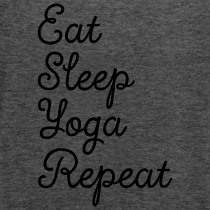 Eat, Sleep, Yoga, Repeat Magliette - Top da donna della marca Bella