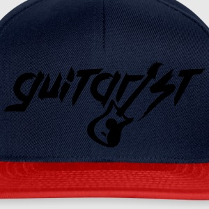 Guitare guitariste texte Logo Tee shirts - Casquette snapback