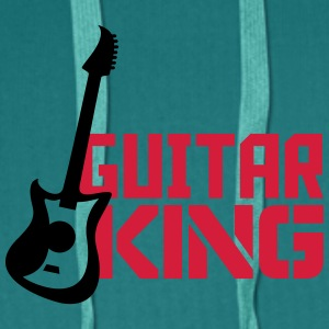 Stilig gitar King Design T-skjorter - Premium hettegenser for menn