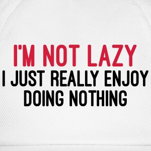 I'm Not Lazy Bottoni & spille - Cappello con visiera