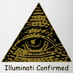 Illuminati Confirmed Meme T-Shirt (Black&White) - Mug