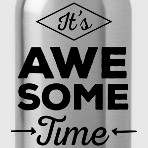 It's Awesome Time T-shirts - Drikkeflaske