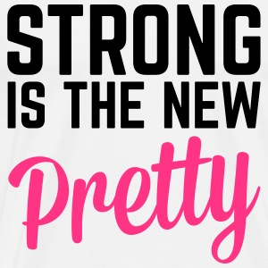 Strong Is the New Pretty   Aprons - Men's Premium T-Shirt