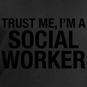 Trust Me I'm A Social Worker Tee shirts - Sweat-shirt Homme Stanley & Stella