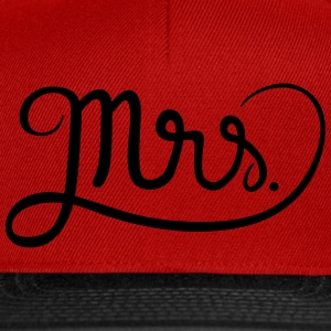 Mrs. Tee shirts - Casquette snapback