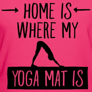 Home Is Where My Yoga Mat Is Tasker & rygsække - Organic damer