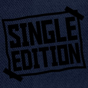 Single Edition paper glued on paper plate T-Shirts - Snapback Cap
