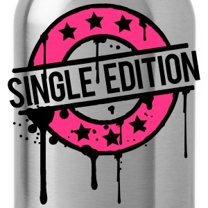 Single Edition stamp graffiti pink award T-Shirts - Water Bottle