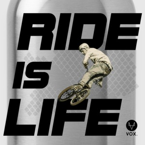 Ride is Life bmx  Tee shirts - Gourde
