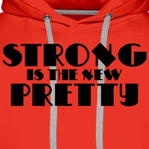 Strong is the new pretty Langarmshirts - Männer Premium Hoodie