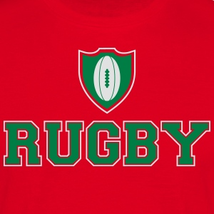 Rugby Ecusson Tabliers - T-shirt Homme