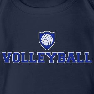 Volleyball Ecusson Tee shirts - Body bébé bio manches courtes