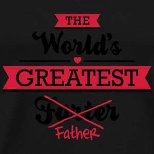 The world's greatest farter/father Mokken & toebehoor - Mannen Premium T-shirt