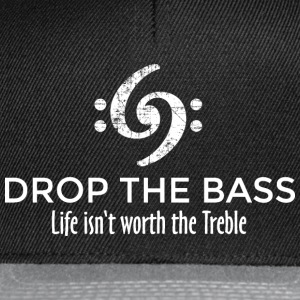 Drop the Bass 69 Vintage White T-Shirts - Snapback Cap