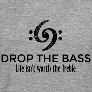 Drop the Bass 69 Vintage Black T-Shirts - Men's Premium Longsleeve Shirt