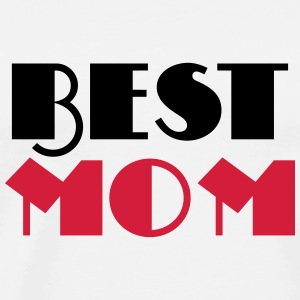 Best Mom Manga larga - Camiseta premium hombre