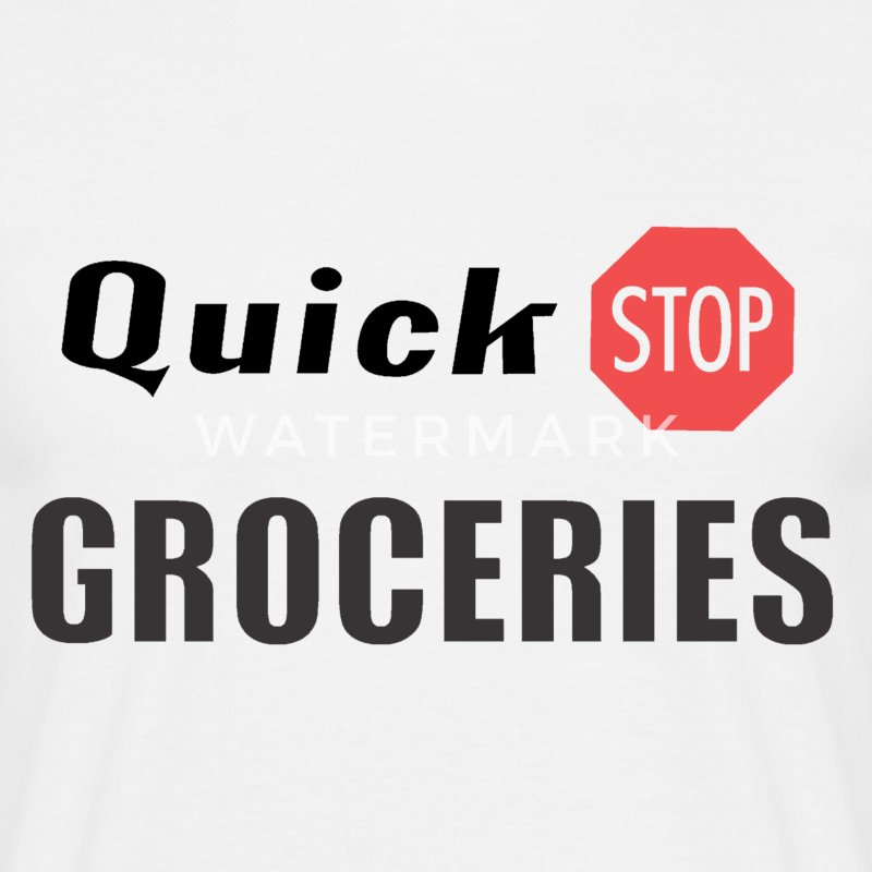 Quickstop Groceries (Clerks) - Men's T-Shirt