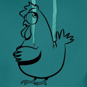 Lay chicken T-Shirts - Men's Premium Hoodie