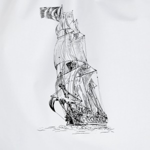 sailing ship Tops - Drawstring Bag