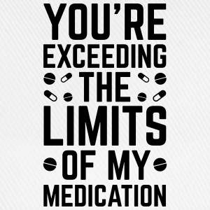The Limits Of My Medication  T-shirts - Basebollkeps