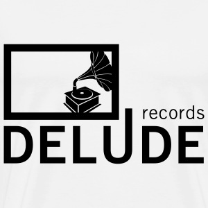 Delude Records Label Logo - Männer Premium T-Shirt