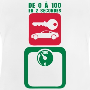 tday2015 cle voiture balance pese person Tee shirts - T-shirt Bébé