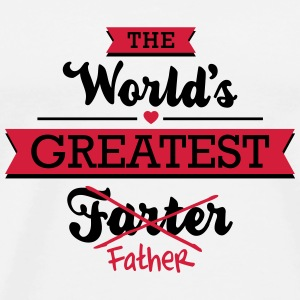 The world's greatest farter/father Tassen & Zubehör - Männer Premium T-Shirt