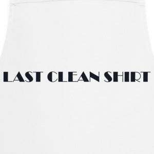Last Clean Shirt WHITE - Cooking Apron