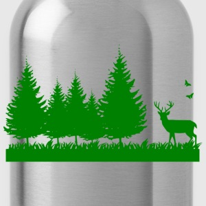 Forest nature environment - Water Bottle
