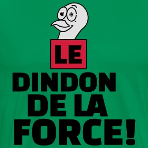 dindon de la force Tabliers - T-shirt Premium Homme