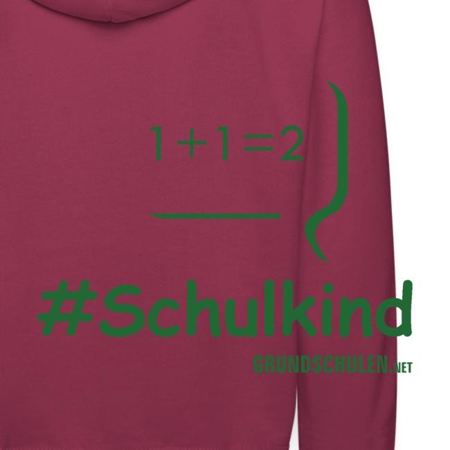 #Schulkind Kapuzenpullover (110-164)