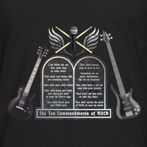 ten_commandments_of_rock_c Baby Bodys - Männer Premium Langarmshirt