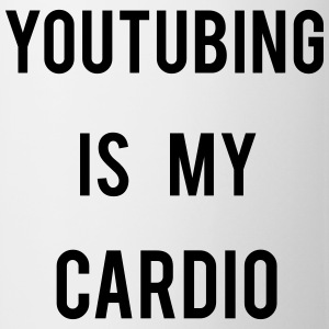Youtubing IS CARDIO T-shirts - Mok