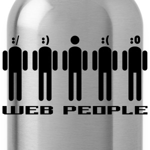 Web people T-Shirts - Trinkflasche