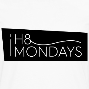 I Hate Mondays (White version) - Men's Premium Longsleeve Shirt