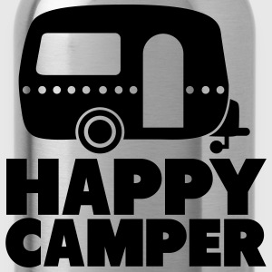 happy camper T-Shirts - Trinkflasche