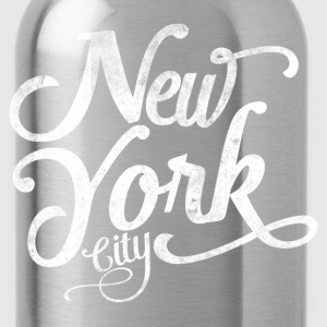 New York City typografi T-shirts - Drikkeflaske