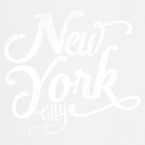 New York City typografi Skjorter - Kokkeforkle