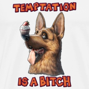 Temptation is a Bitch Other - Men's Premium T-Shirt