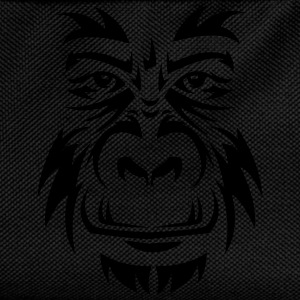 Gorilla Face Tribal T-Shirts - Kinder Rucksack